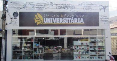 Livraria Universitária inaugura novas instalações em Cajazeiras com grandes novidades
