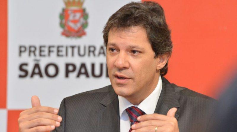 Fernando Haddad, vice de Lula, deve visitar a Paraíba ainda este mês