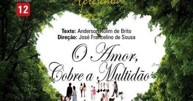 """GTR apresenta """"O amor cobre a multidão"""" no Teatro Ica na sexta (30) e sábado (1)"""