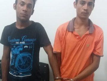 Polícia Militar prende dupla acusada de vários arrobamentos em Cajazeiras