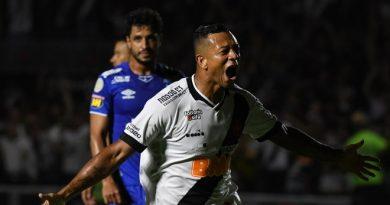 Vasco vence e mantém Cruzeiro na zona de rebaixamento do Brasileiro